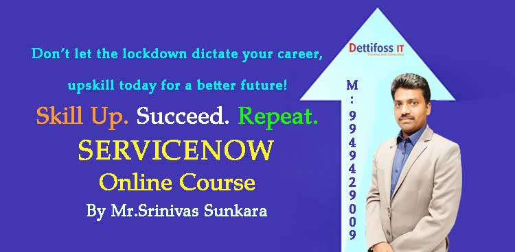 Advanced Servicenow Training & Certification in Hyderabad