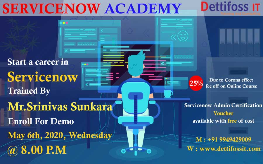 Servicenow Online Training in Ameerpet