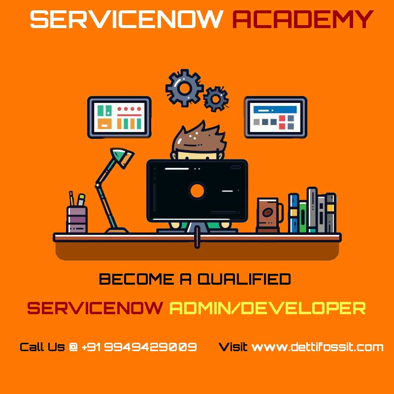 Become a qualified SERVICENOW DEVELOPER / ADMIN