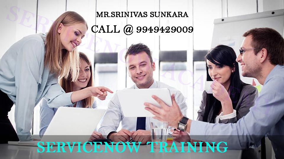 Learn Servicenow Course Training in Hyderabad