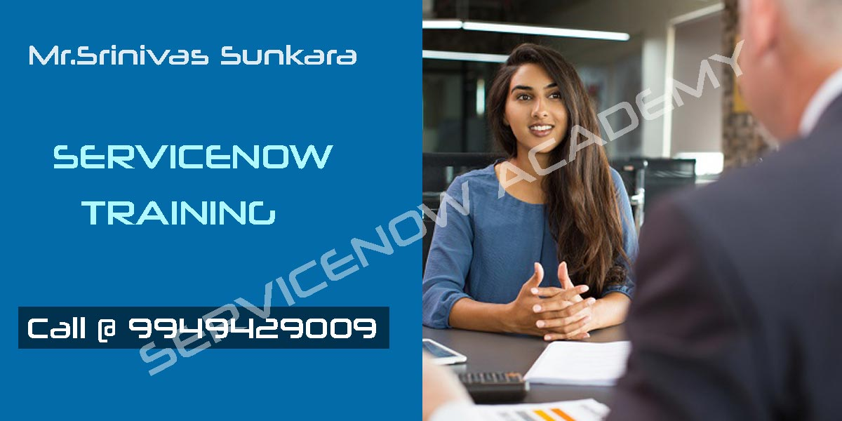 Servicenow Online Course Training in  Hyderabad
