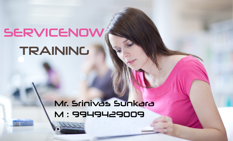 Servicenow Course Online & Offline Training in Hyderabad