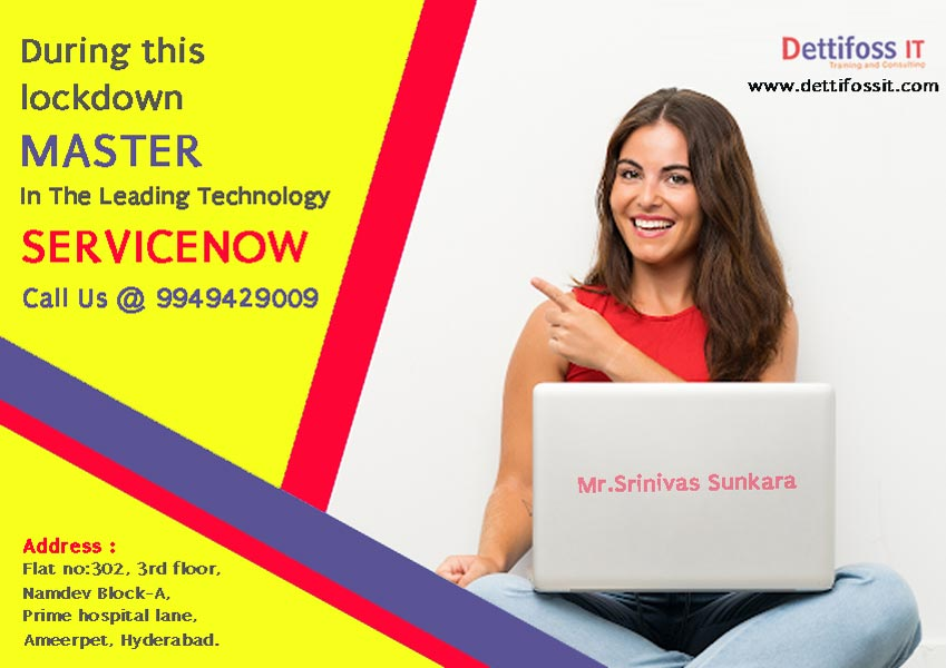 Learn Online ServiceNow Course in Hyderabad
