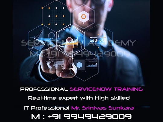 Professional Servicenow Training in Hyderabad