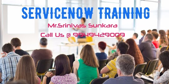 Instructor-led ServiceNow training in Hyderabad, india