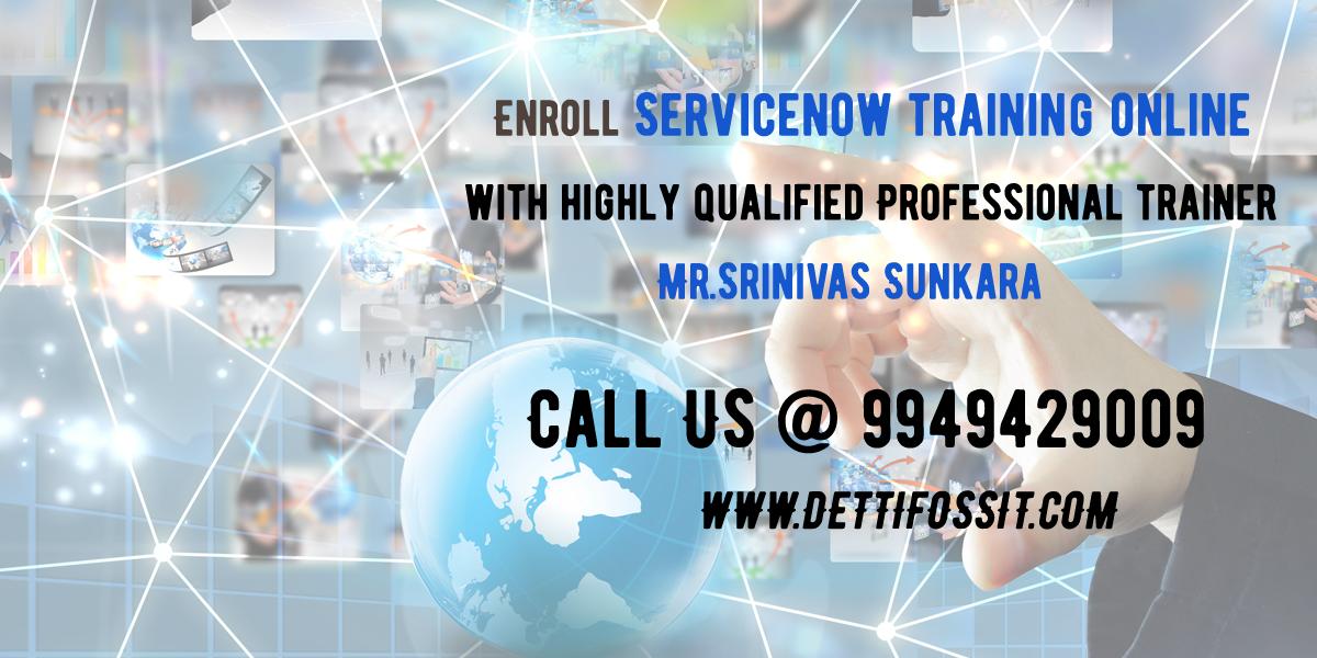 Best ServiceNow Training Institute in Hyderabad