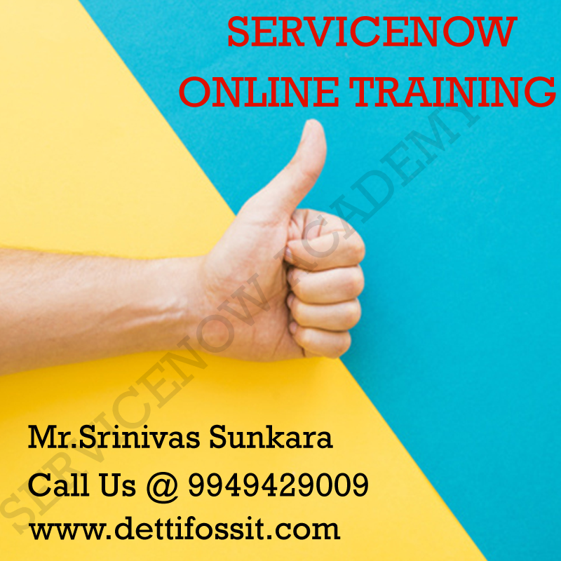 Online Servicenow Training in Hyderabad