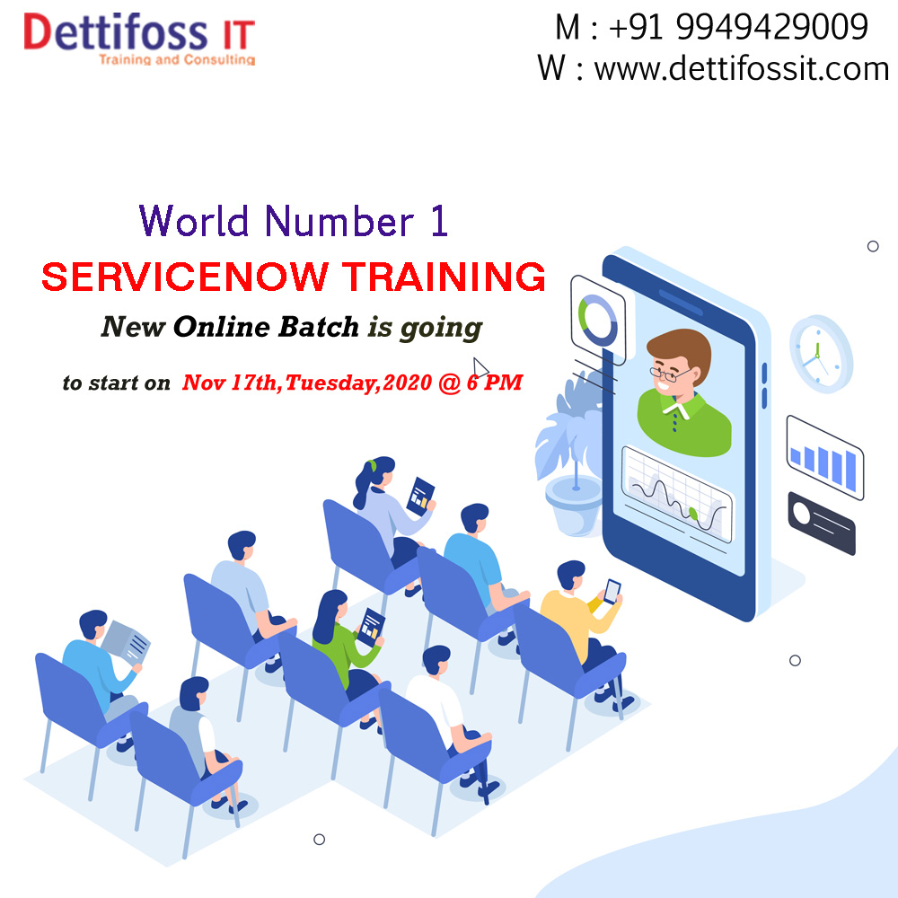 Online ServiceNow Training Course in Hyderabad
