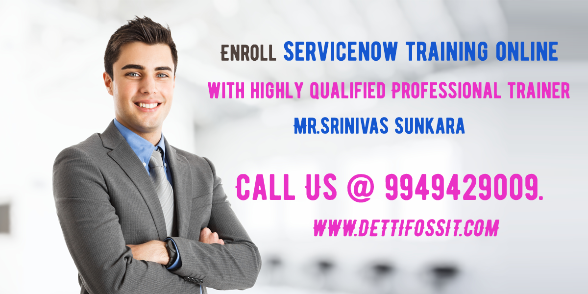 Advanced Servicenow Training in Hyderabad