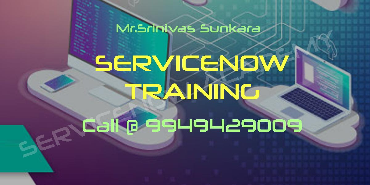 ServiceNow Online Course in Hyderabad