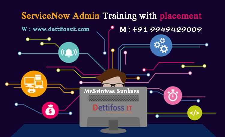 ServiceNow Admin Training with placement in Hyderabad